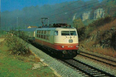DB-Baureihe 103. Eisenbahn Bestell-Nr. 10301