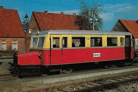 Schienenbus T 41 Waggonfabrik Wismar 1933, Heiligenberg. Eisenbahn Bestell-Nr. 10310