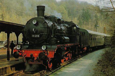 38 205 DR (früher: Sächsische XII H2). Eisenbahn Bestell-Nr. 10314