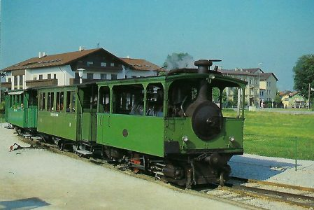 Chiemsee-Bahn. Dampflokomotive Krauss + Co. 1887. Eisenbahn Bestell-Nr. 10316