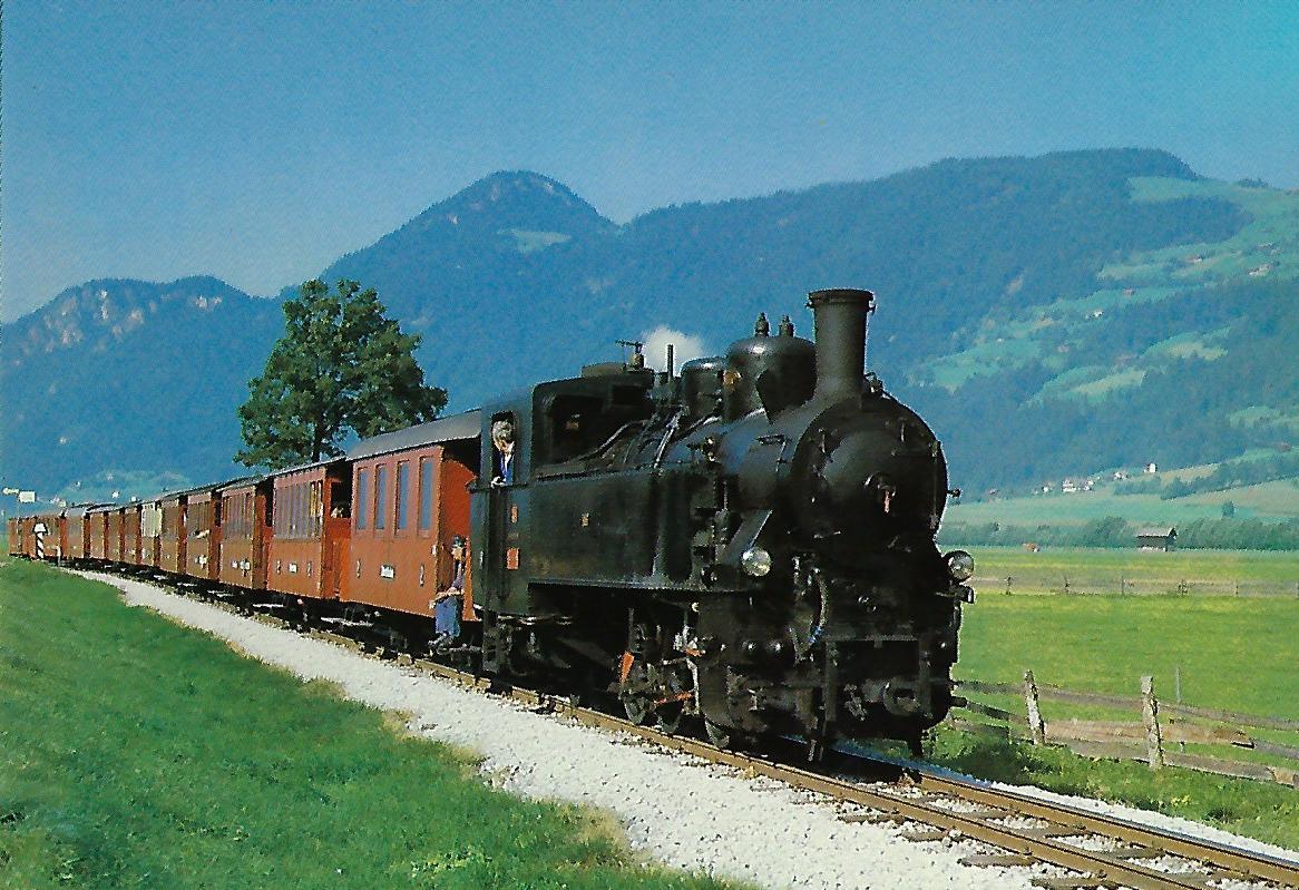"Zillertalbahn, Dampflokomotive Nr. 5 ""Gerlos"". Eisenbahn Bestell-Nr. 10319"