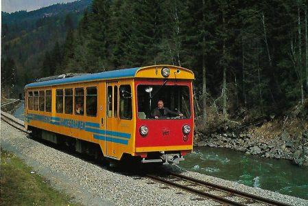 Steiermärkische Landesbahnen (StmLB), VT 31 bei Tamsweg. Eisenbahn Bestell-Nr. 10321