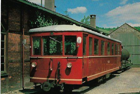 VT 303 Schmalspurtriebwagen in Dörzbach. Eisenbahn Bestell-Nr. 10325