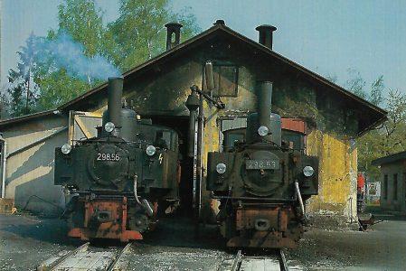 ÖBB 298.56 und 298.53 in Garsten. Eisenbahn Bestell-Nr. 10328