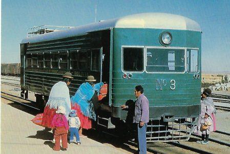 V-Triebwagen Nr. 3, Bolivien. Eisenbahn Bestell-Nr. 10334