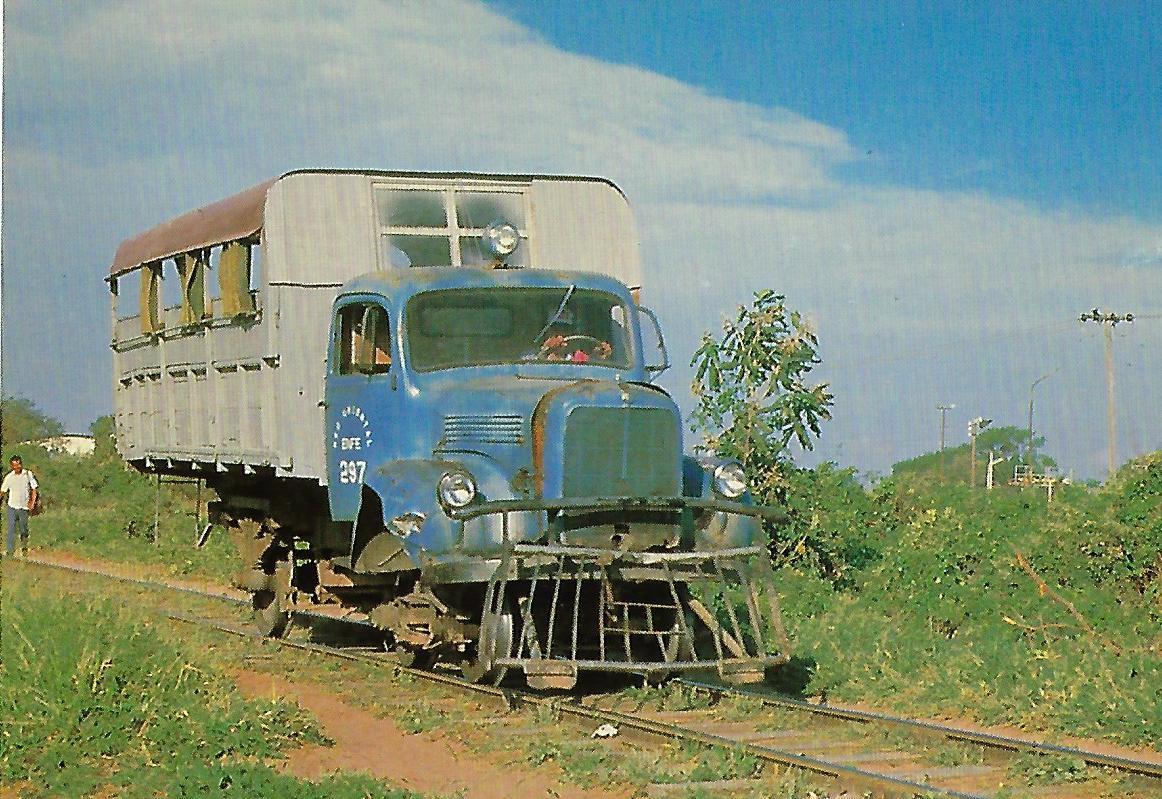 Schienenbus, Bolivien. (10336)