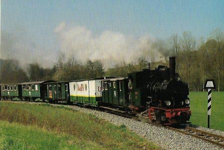 "Dampflokomotive ""Helene"" der DGEG / Jagsttalbahn. Eisenbahn Bestell-Nr. 10340"