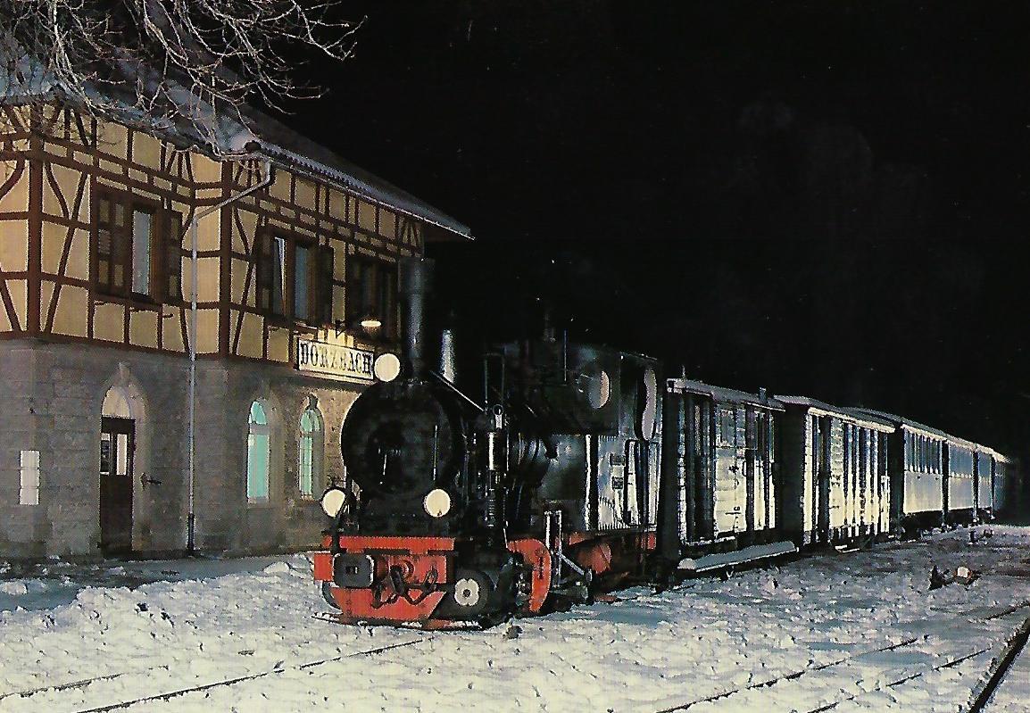 """Jagsttalbahn """"Helene"""". Eisenbahn Bestell-Nr. 10341"""