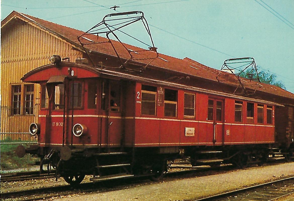 ET 183 05 in Tettnang. Eisenbahn Bestell-Nr. 10344
