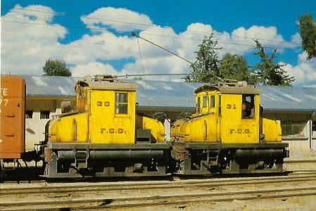 Bolivien, elektr. Lokomotiven Nr. 30 und 31. Eisenbahn Bestell-Nr. 10363