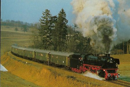 IG 41 018 e.V. bei Neumarkt-Kallham. Eisenbahn Bestell-Nr. 10383