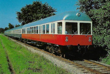 NVAG, VT 2 bei Niebüll. Eisenbahn Bestell-Nr. 10403