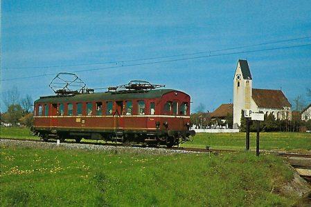 ET 90 03 bei Willing / Bad Aibling. Eisenbahn Bestell-Nr. 5202