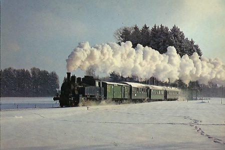 TAG 7 auf der Tegernseebahn bei Moosrain. Eisenbahn Bestell-Nr. 5207