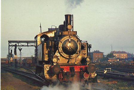 98 812 im Bw Schweinfurt. Eisenbahn Bestell-Nr. 5214