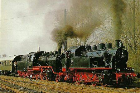 DME 184, ELNA 6 und 24009 in Kahl, Main. Eisenbahn Bestell-Nr. 5221