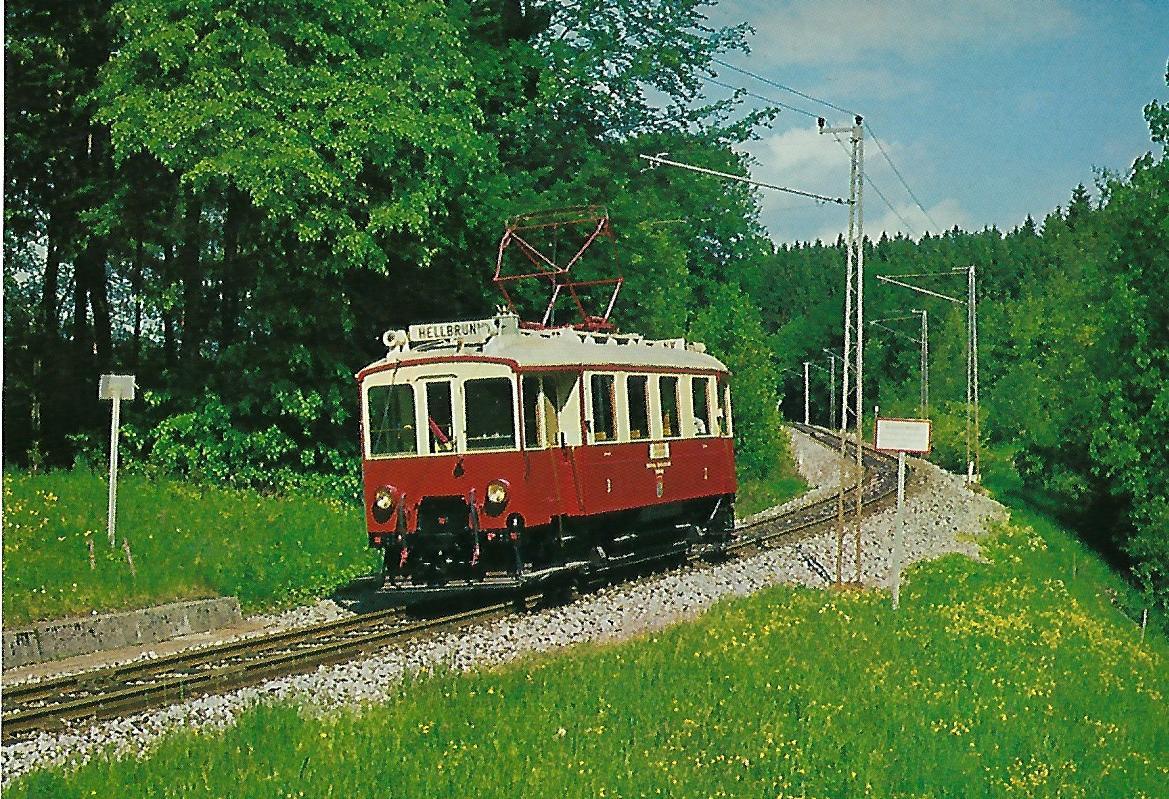 100 Jahre SETG-SVB Lokalbahnen 1886-1986. Salzburger Stadtwerke – Verkehrsbetriebe. Eisenbahn Bestell-Nr. 5222