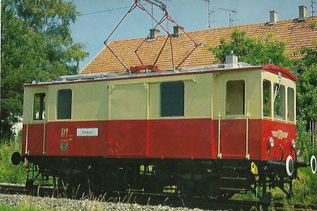 ET 1, Bj. 1910/19 Salzburger Stadtwerke – Verkehrsbetriebe – Lokalbahn (SETG-SVB). Eisenbahn Bestell-Nr. 5223