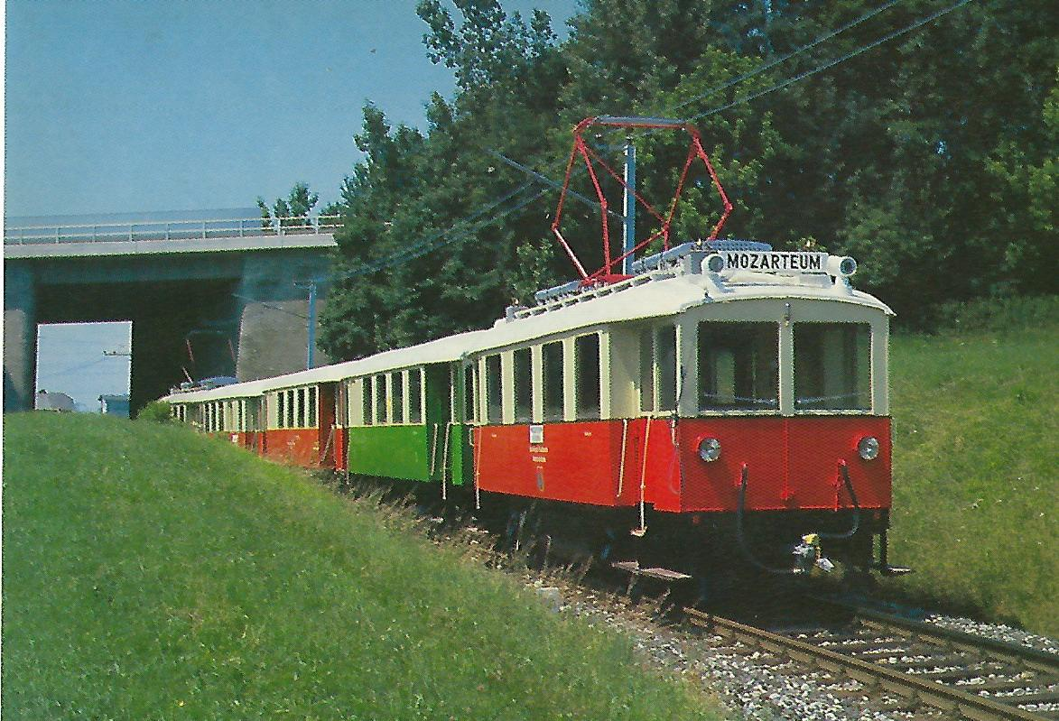 ET 7, 100 Jahre SETG-SVB Lokalbahnen 1886-1986. Eisenbahn Bestell-Nr. 5226