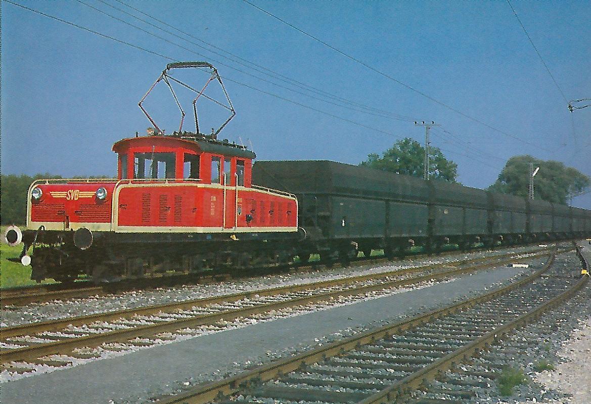 E 61, Baujahr 1952, 100 Jahre SETG-SVB. Eisenbahn Bestell-Nr. 5228