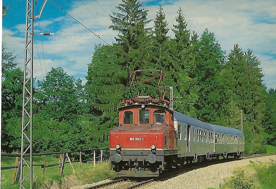 169 003 in Seeleiten-Berggeist. Eisenbahn Bestell-Nr. 5301