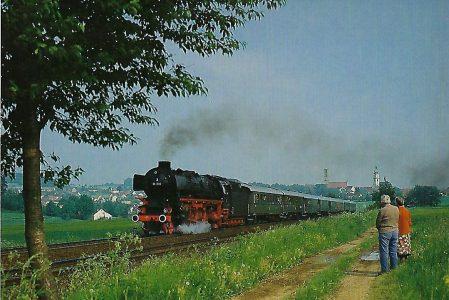 01 1100 DB bei Sulzbach-Rosenberg. Eisenbahn Bestell-Nr. 5306