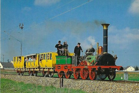 ADLER Nachbau in Moosach. Eisenbahn Bestell-Nr. 5307