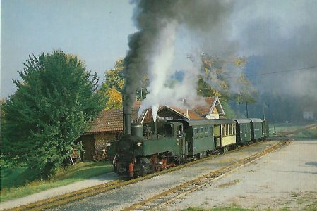 ÖBB 298.207 in Altweitra. Eisenbahn Bestell-Nr. 5310