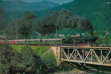 52.3517 der ÖGEG bei Bischofshofen. Eisenbahn Bestell-Nr. 5325