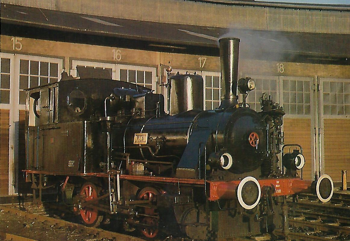 """Dampflok """"Luci"""" (Bj. 1916). Eisenbahn Bestell-Nr. 5357"""