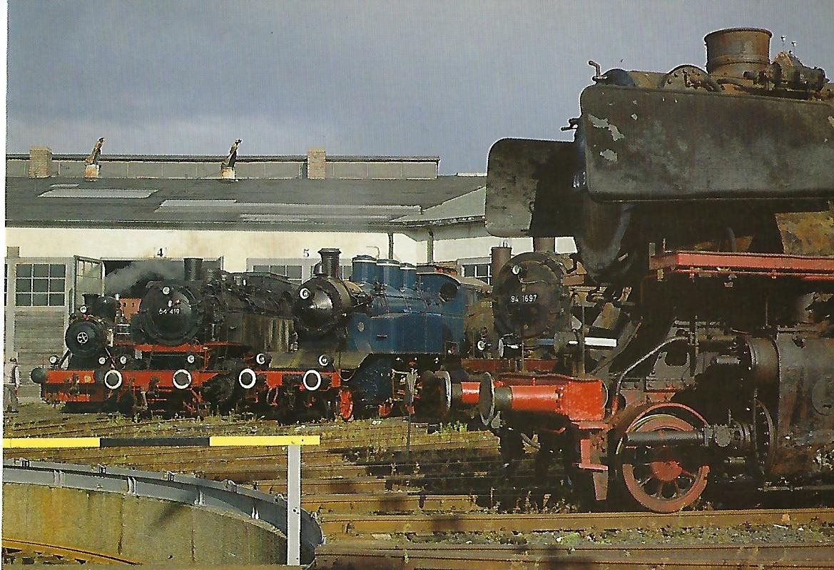 Lok 9, 64 419, TAG 8, 89 837, 94 1697, 44381. Eisenbahn Bestell-Nr. 5358