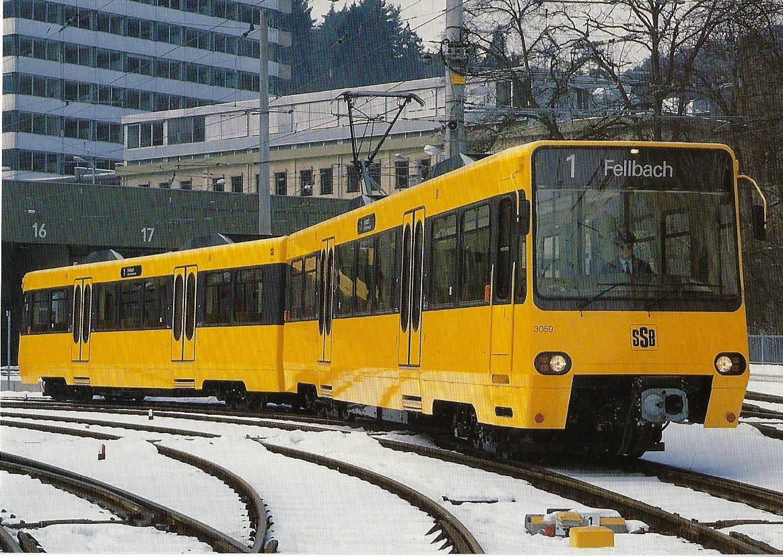 Stuttgarter Straßenbahnen AG. Straßenbahn Bestell-Nr. 90642