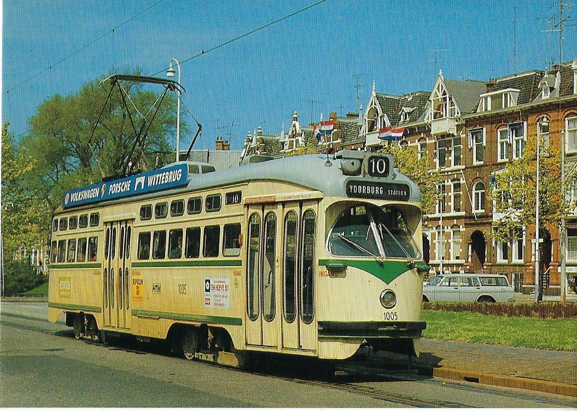 HTM Haagsche Transpoort Maatschappij. Straßenbahn Bestell-Nr. 90646