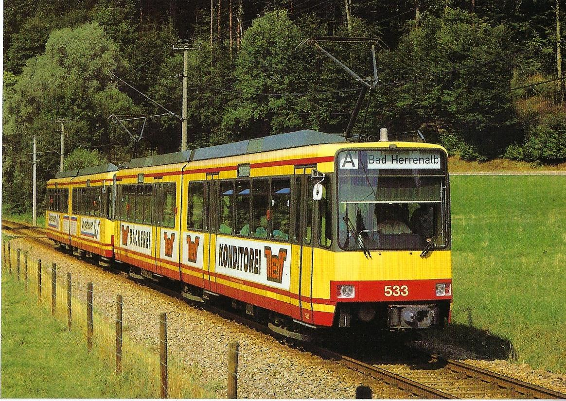 Albtal-Verkehrs-Gesellschaft GmbH (AVG) Straßenbahn Bestell-Nr. 90653