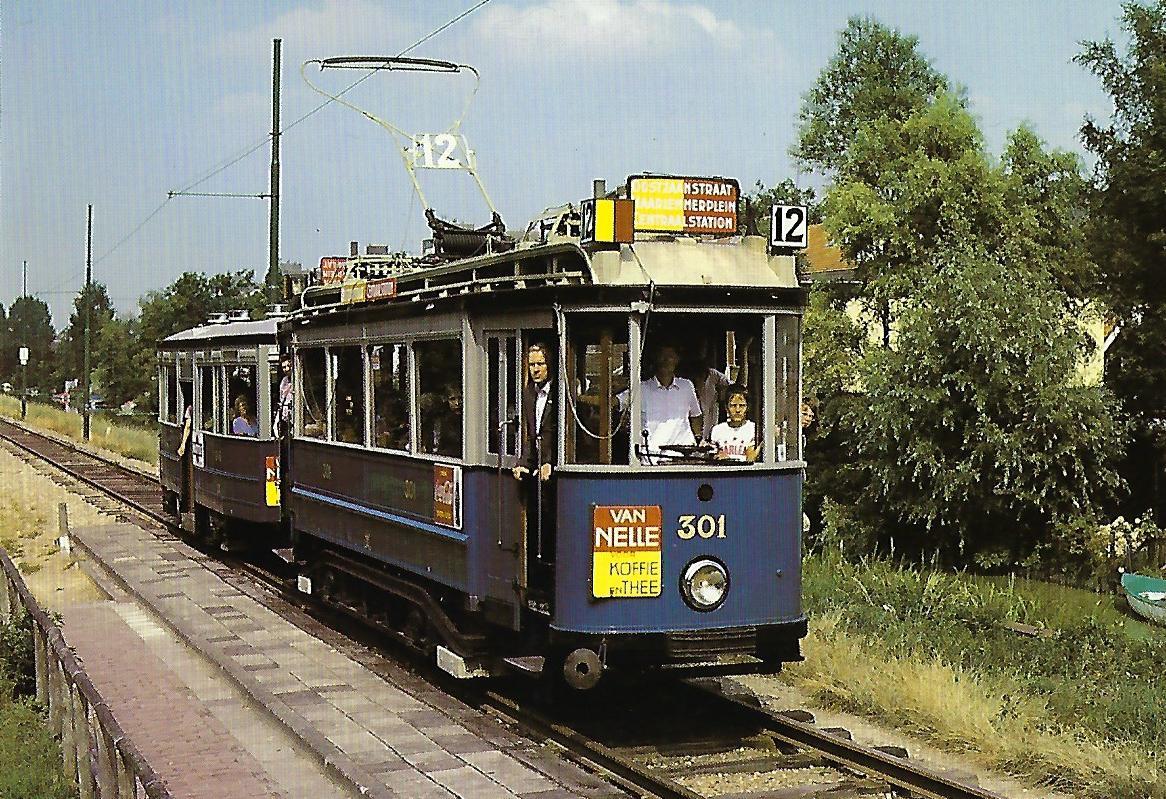 Museumsstraßenbahn Amsterdam (90666)