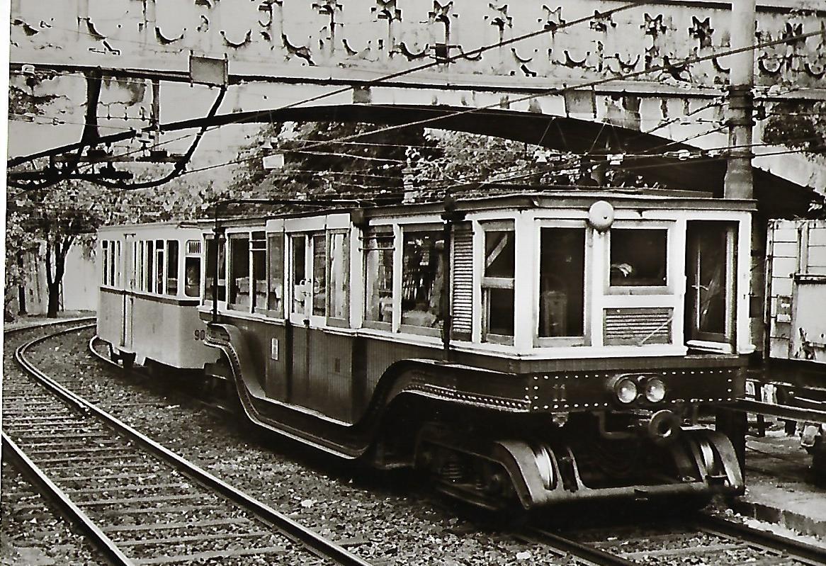 Budapester Verkehrsbetriebe, U-Bahn-Zug. (91153)