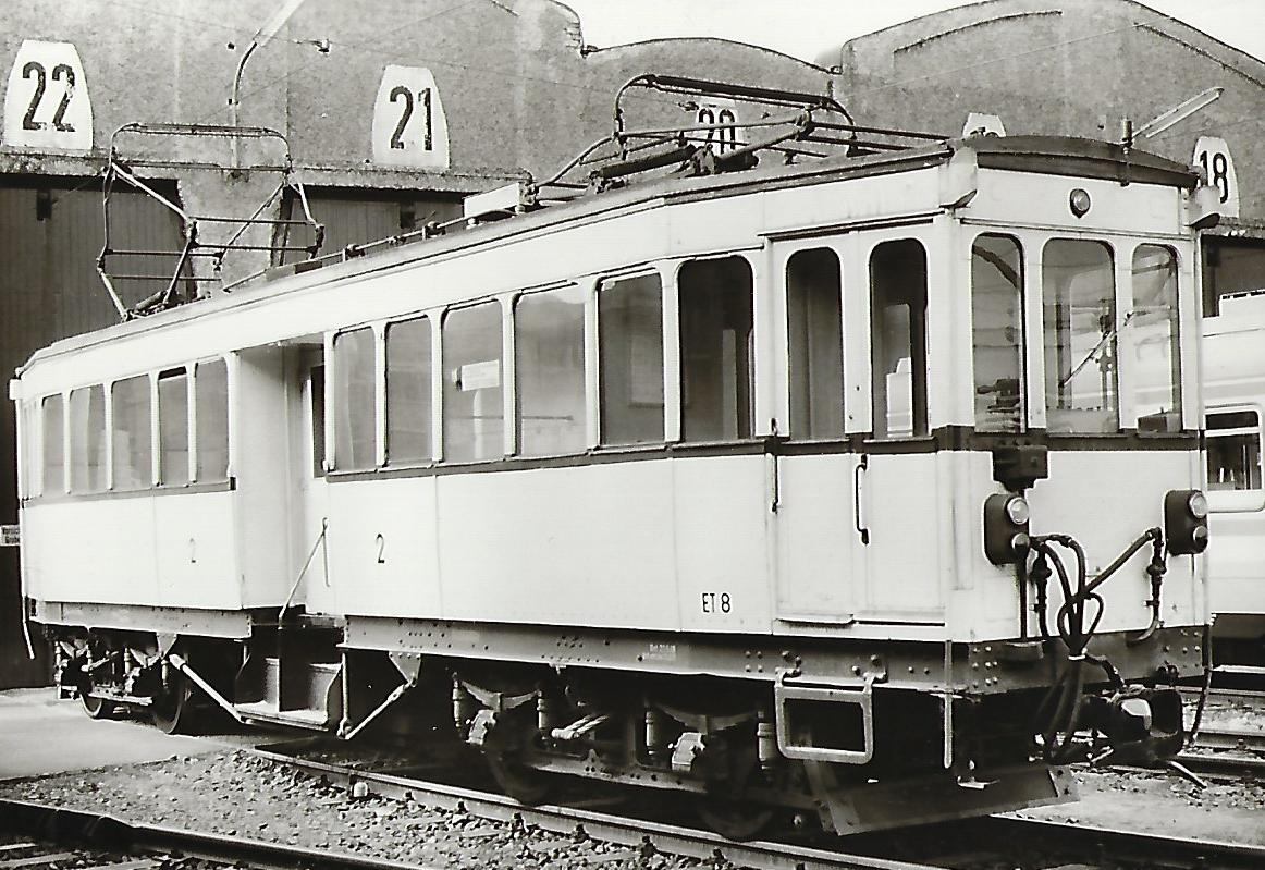 Köln-Bonner-Eisenbahnen ET 8. (91216)