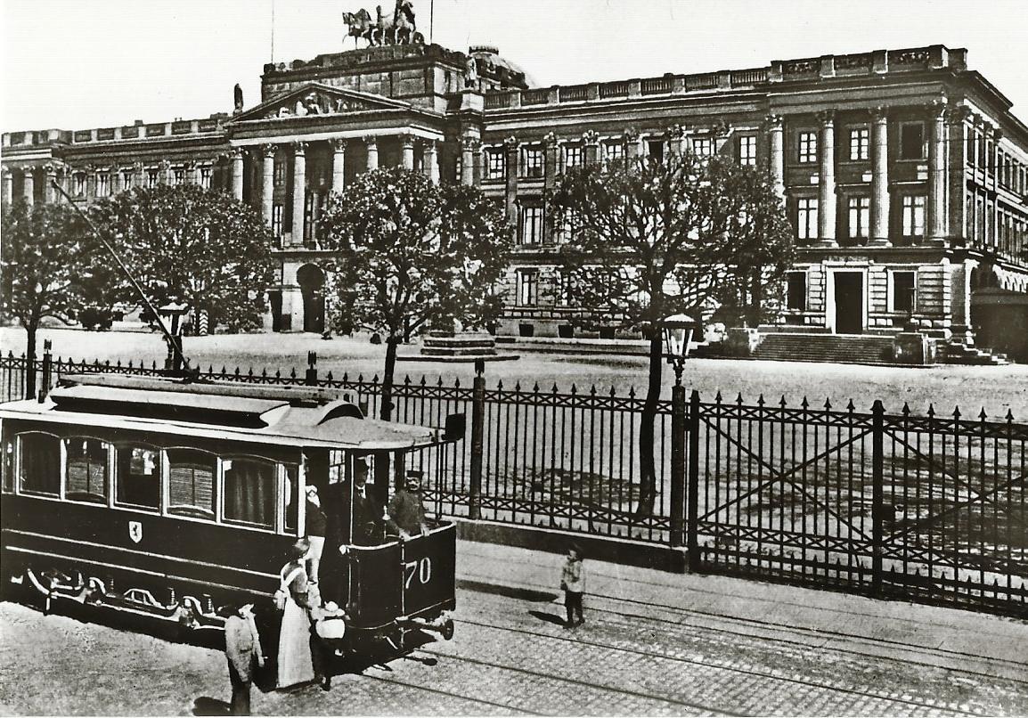Straßenbahn Braunschweig, TW 70, Bj. 1898. Straßenbahn Bestell-Nr. 96041
