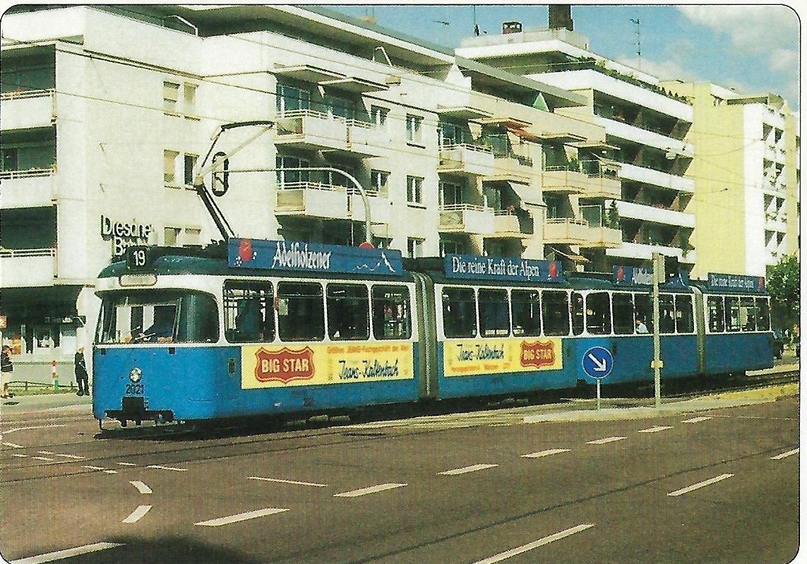 Kreillerstraße Linie 19. Straßenbahn Bestell-Nr. 99228