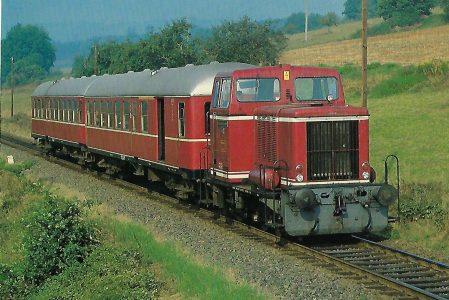 Bad Orber Kleinbahn, Diesellokomotive V 13. Eisenbahn Bestell-Nr. 10410