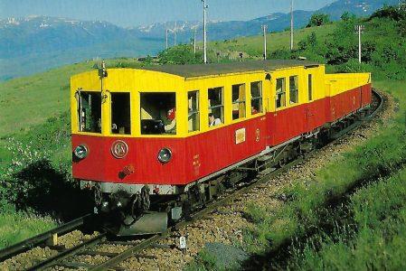 SNCF, elektrischer Triebwagen der Serie 111-118. Eisenbahn Bestell-Nr. 10412