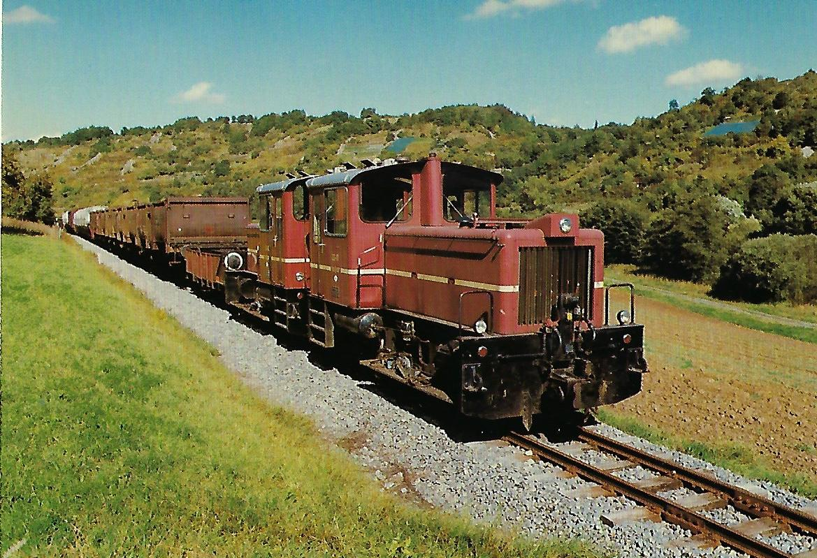 SWEG, Schmalspur-Diesellokomotiven V 22 01/02. Eisenbahn Bestell-Nr. 10418