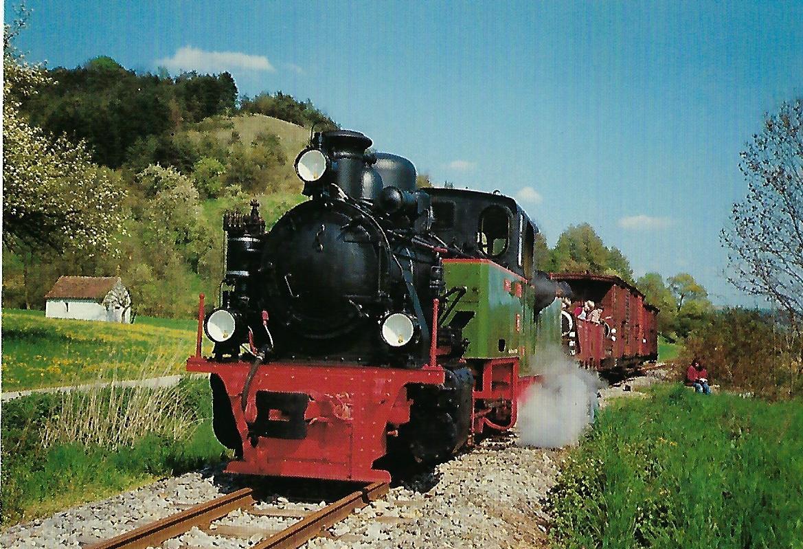 "SWEG, Schmalspur-Dampflokomotive ""Frank S"". Eisenbahn Bestell-Nr. 10419"