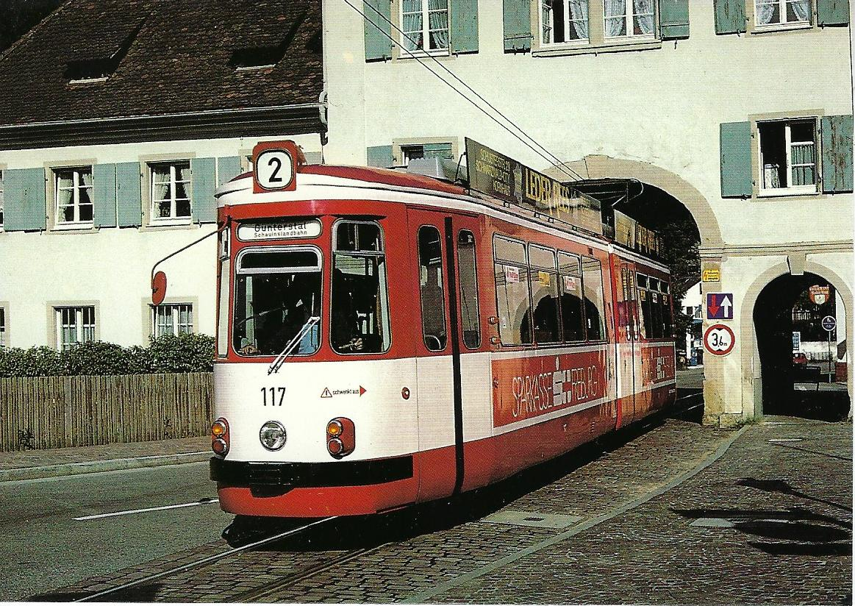 Freiburger Verkehrs AG (VAG). Straßenbahn Bestell-Nr. 90652