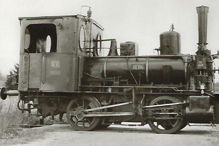 Bayerische D VI. Lokomotive BERG der Bayerischen Staatseisenbahnen. Eisenbahn Bestell-Nr. 5101
