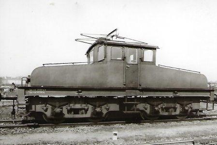 Elektrische Lokomotive Nr. 3 der Landespostdirektion Berlin. Eisenbahn Bestell-Nr. 5111