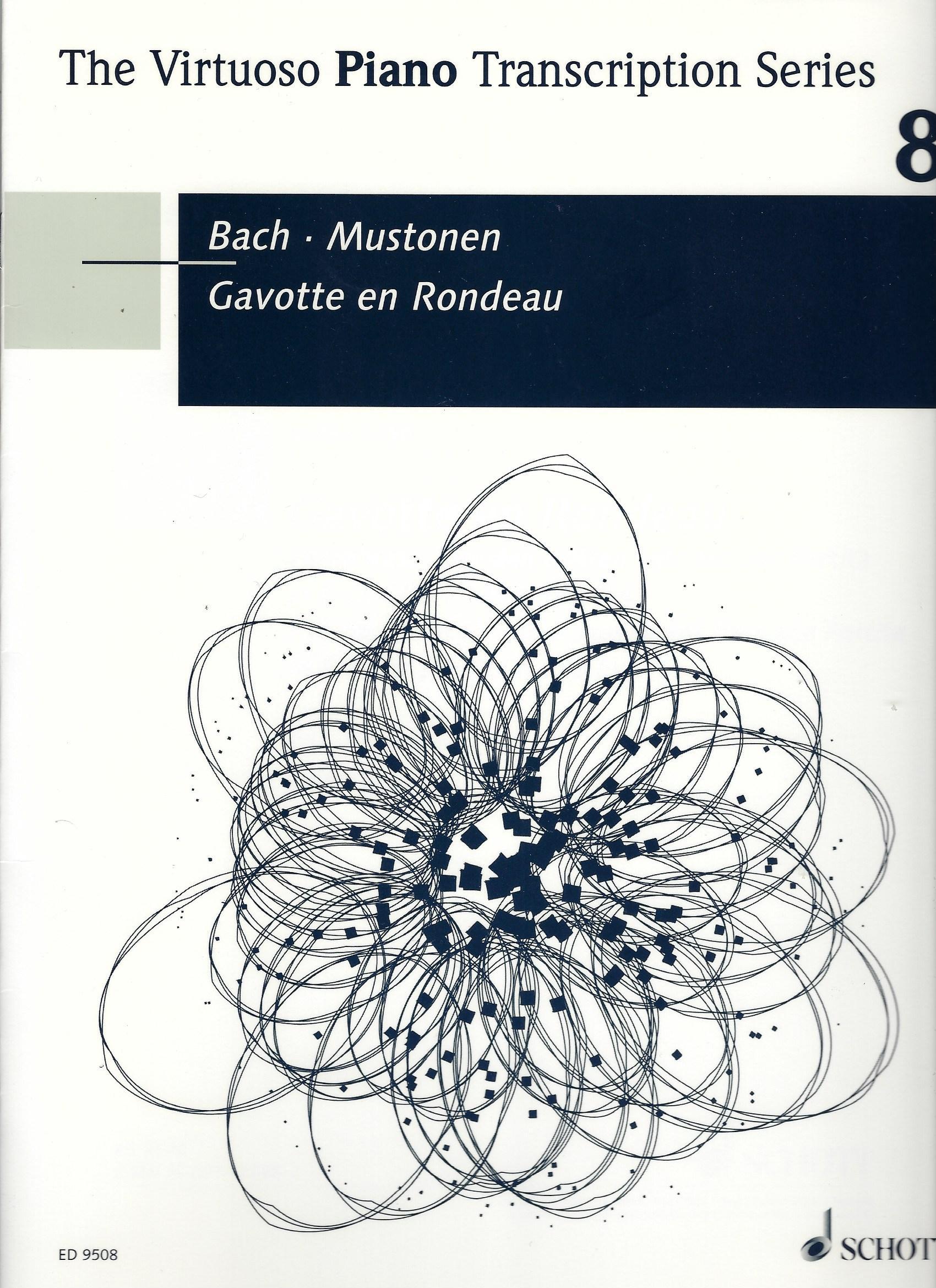 Bach / Mustonen. GAVOTTE EN RONDEAU: für Klavier