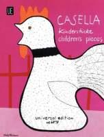 11 Kinderstücke für Klavier. Casella, Alfredo