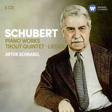 Artur Schnabel. Franz Schubert: Klavierwerke
