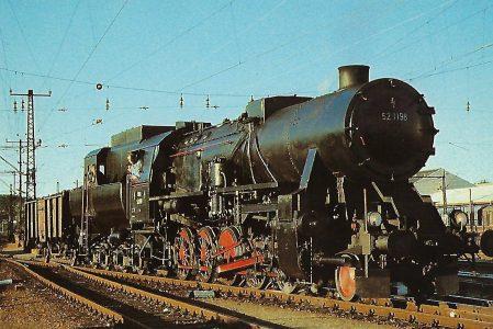 ÖBB Dampflokomotive 52.1198 in Salzburg Hbf. Eisenbahn Bestell-Nr. 10529